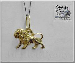 Złoty wisiorek Znak Zodiaku LEW + inne znaki Jubiler Tychy