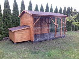 Drewmax-Kojec dla psa z budą 3x2 Transport cała Polska