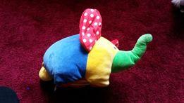 maskotka dla niemowlaka słoń