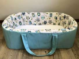 Large Carry Cot (Owls)
