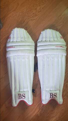 BS cricket pads