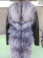 Чернобурка куртка жилетка трансформер
