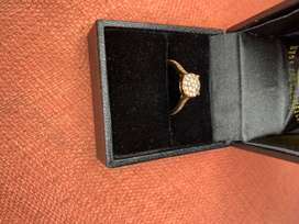 9ct Rose Gold Engagement ring