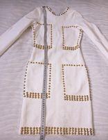 Стильное бандажное платье р.S-M.
