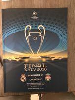 Официальная программа финала лиги чемпионов (champions league final)
