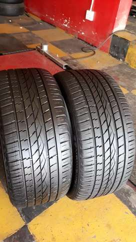 295/40/21 CONTINENTAL CROSSCONTACT UHP TYRES×4