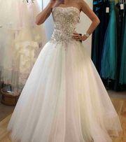 Свадебное платье шикарное камни Swarowsky оригинал!Срочная продажа!