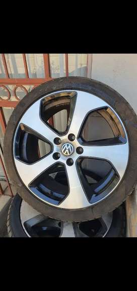 Golf 7 gti and audi rims for sale