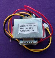 Трансформатор 15Vx2 3A model: 109-01af31-01 для акустики SVEN.