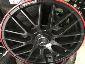 SELECTED AMG 19 INCH BRAND NEW RIMS