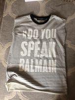 BLAMAIN tunika bluzowa koszulka long paski BALMAIN