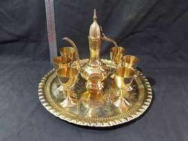 Large Wine Set (Brass)