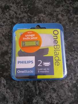 Philips one blade replacement blades(2)