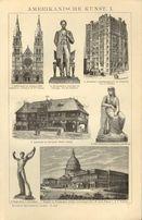 ARCHITEKTURA - SZTUKA I oryginalne XIX w. grafiki do dekoracji