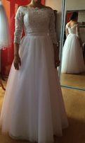 Suknia Ślubna piękna ! idealna! okazja ! ślub 2019