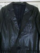 Пиджак кожаный мужской. Р.50. Покупался в Германии.