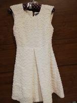 Emo sukienka biała 36