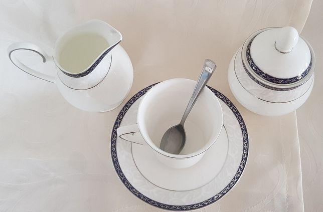 Porcelanowy serwis kawowy 4 os Gdynia - image 4