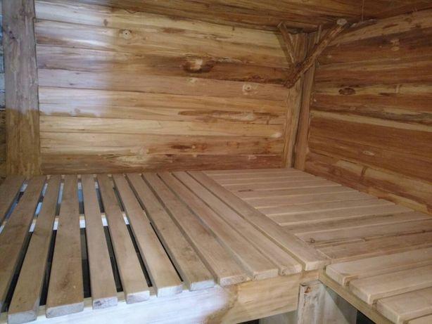 Лежак (полок) липовый для сауны и бани Харьков - изображение 7