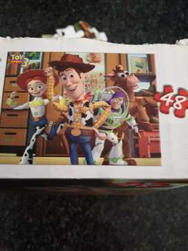 Toy story 3D puzzle 48 pieces