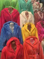 Махровые халаты Тёплые 500гр