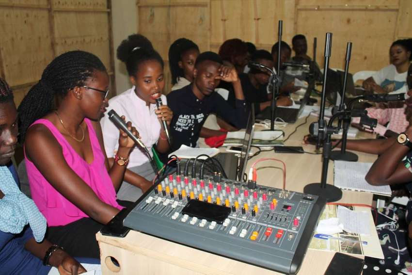 STUDY TV & RADIO PRODUCTION AT ONLY 350K 0