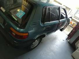 Toyota Tazz 1.3 stripping for spares