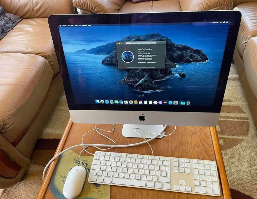 2013 iMac 21.5 inch i5 8gb ram 1TB HDD for sale. Great condition