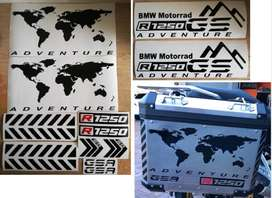 R1250 GS Pannier decals stickers graphics kits