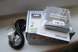 MP3 usb aux адаптер Yatour VW8D или VW12 для Audi Volkswagen Skoda