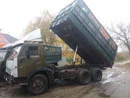 Вывоз объёмного мусора.! КАМАЗ 15-30 кубов. Борта 2 м.! Кузов 4-6 м.!