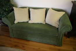 Sofa, Kanapa, meble, salon. Komplet z fotelami