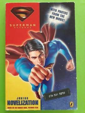 Superman Returns - Louise Simonson - Junior Novelization.