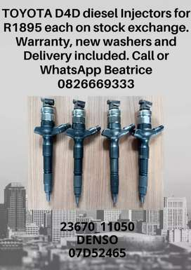 Toyota Fortuner diesel injector for sale