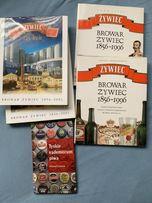 Zestaw komplet książek albumów Żywiec Tyskie Piwo