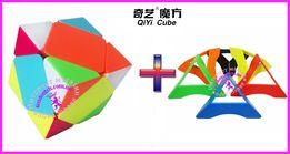 Кубик Рубик Скьюб (sqewb) - головоломка, цветной пластик от Qiyi
