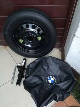 Original BMW F25 X3 2010/2014 Spare Wheel Kit Tool Kit Wheel Cover