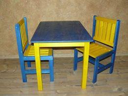 Stolik + 2 krzesełka dla dzieci DKS34
