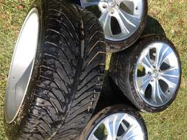 """MAGS: 18 inch """"Manaray"""" wheels and tyres PCD 114.3x5 4 sale! Imported"""