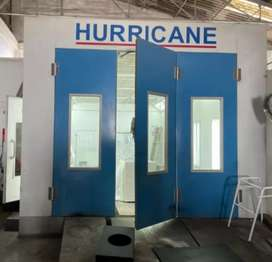 Hurricane Spray Booth For Sale Model T8000