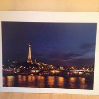 obraz - plakat (Paryż lub wybrzeże)