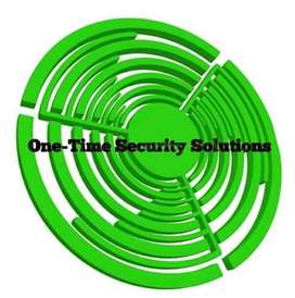 ONE-TIME SECURITY SOLUTIONS & MAINTENANCE