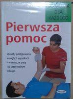 NOWA Książka PIERWSZA POMOC 288 str. Poradnik dla każdego (DUŻA ILOŚĆ)