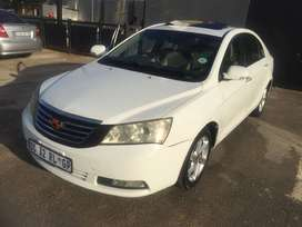 Geely emgrand x7  1.8 leather interior and sunroof