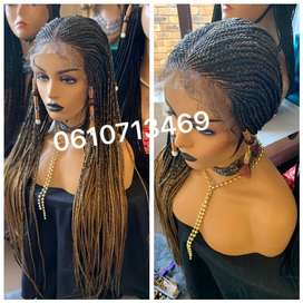 FABULOUS LACE FRONT CORNROW WIG