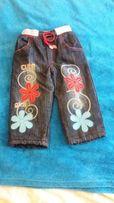 джинсы утепленные 2-3 года