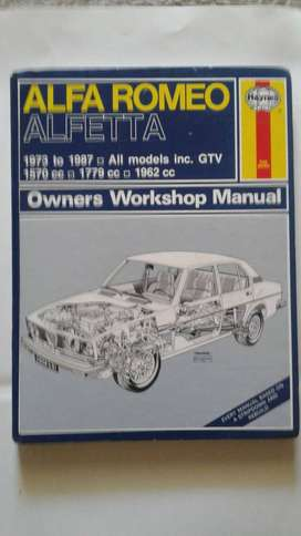 Alfa Romeo Alfetta Owners Workshop Manual