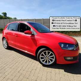 2013 VW Polo 1.6 Comfortline with Sunroof Very Good Condition