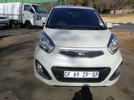 Kia picanto 1.2 liter 4plugs 2013 model for sell