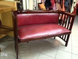 stylowa kanapa długość 120 szerokosć 60cm